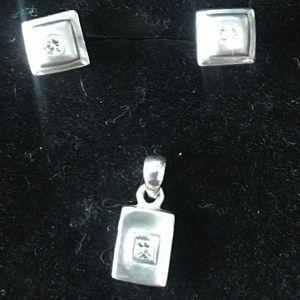 Earrings & Pendant set